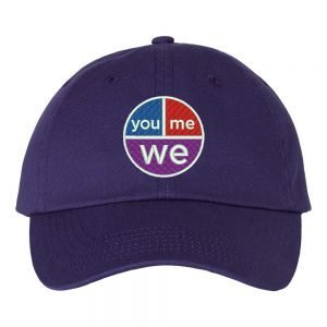 YouMeWe Cap – $5 from every sale goes towards women and children's anti-violence initaitives